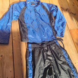 Vintage 90s navy blue girls Nike tracksuit